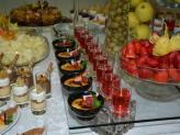 Buffet de frutas e doces - Quinta das Abertas