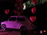 Fiat 600 - disponível para aluguer em casamentos - Encantos de Coimbra