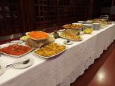 Buffet de jantar de natal 2019 - Encantos de Coimbra