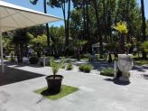 jardim exterior - Palácio dos Antónios