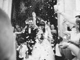 Saída da cerimónia - Fotografia Estúdio 7