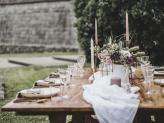 Decoração de mesa - Quinta do Avesso