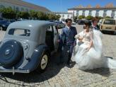 Citroen BL 11 1951, casamento. - Taviclássicos