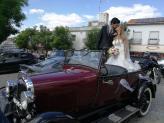 Ford A 1928, casamento Teresa & Fábio. - Taviclássicos