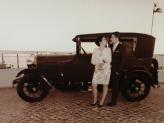 Ford A 1929, casamento. - Taviclássicos