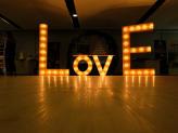 Love iluminado - Arco Íris