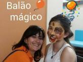 Pinturas faciais - Balão Mágico