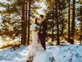 Sessão pos casamento na neve, casamento na montanha - The Foreigners Studio