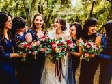 Madrinhas, foto com as madrinhas, flores das madrinhas. - The Foreigners Studio
