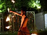 Espetáculo de fogo - Izi Fun
