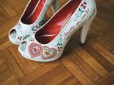 Sapato Namorarte Flor de Laranjeira - Namorarte