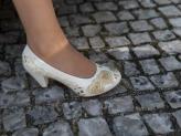 Sapato Namorarte Peonia Dourado - Namorarte