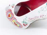 Sapatos Namorarte Flor de Lis - Namorarte