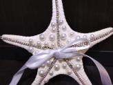 """Uma estrela do mar trabalhada para as """"estrelas do casamento"""" - Vânia Pascoal"""