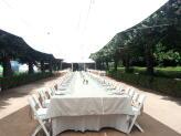 Almoço de Exterior na Avenida das Tílias - Quinta do Jordão