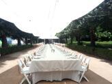 Almoço na Avenida das Tílias - Quinta do Jordão