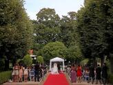 Casamento Civil na Avenida das Tílias - Quinta do Jordão
