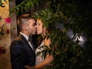 Um beijo amoroso de noivos - Isilda Murteira Fotografia