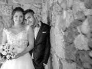 Casal de noivos em pose - Isilda Murteira Fotografia