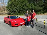Experiências de condução Ferrari em via rápida - Ferrari Rent Braga