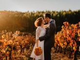 Noivos nas vinhas - QUINTA DE SÃO GENS