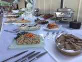 Buffet de Quentes e Saladas - QUINTA DE SÃO GENS