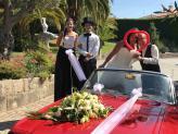 Mimos e Andas na recepção dos noivos e convidados - A.Veiga Casamentos Mágicos
