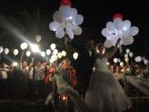 Largada de Balões Leds - A.Veiga Casamentos Mágicos