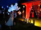 Balões Leds para todos os convidados - A.Veiga Casamentos Mágicos