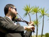 Durante os aperitivos, Violinista toca sucessos  - A. Veiga Casamentos Mágicos