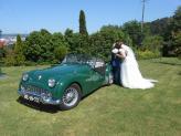 Triumph TR3 A de 1958 - na Quinta Salgueiro - TXR Carros Antigos