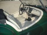 Triumph TR3 A de 1958 - interior - TXR Carros Antigos