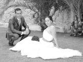 Foto de noivos em pose, fotografados por Foto Gão Vasco - Foto Grão Vasco