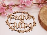 Lembrança de Casamento Base de Tachos em Madeira Miminhos Rita Catita - Miminhos Rita Catita