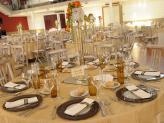 Quinta da Capela - Campia - decoração de mesa tom dourado - Quinta da Capela