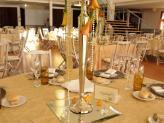 Quinta da Capela - Campia - pormenor decoração de mesa tom dourado - Quinta da Capela