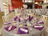 Quinta da Capela - Campia - decoração de mesa tom roxo - Quinta da Capela