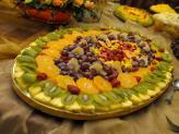 Quinta da Capela - Campia - pormenor mesa de buffet de fruta laminada - Quinta da Capela