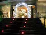 Quinta da Capela - Campia - pormenor escadaria em evento de finalistas - Quinta da Capela