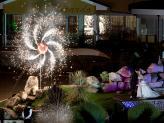 Quinta da Capela - Campia - pormenor com fogo brinde dos noivos - Quinta da Capela