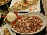 Buffet de saladas - Sítio dos Amores Perfeitos