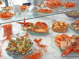 Buffet de marisco - Sítio dos Amores Perfeitos