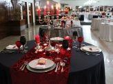Um aspecto de mesas postas para casamento na Quinta das Acácias - Quinta das Acácias