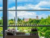 Vista do Salão para o Jardim - Quinta do Mourão by Narcisu's