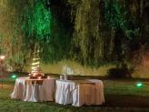 Corte do Bolo dos Noivos em Jardim privativo - Quinta da Feteira