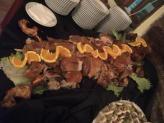Mesa de buffet de leitão - Quinta do Palhal