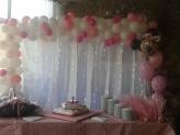 Decoração com balões/Batizado - Quinta do Palhal