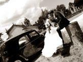 Beijo de noivos captado por Foto Aguiarense - Foto Aguiarense