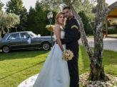 Casal de noivos fotografados no exterior por Foto Aguiarense - Foto Aguiarense