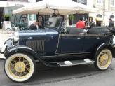 Ford A Phaeton de 1928 (azul, descapotável) - Genésio Domingos Laranjo
